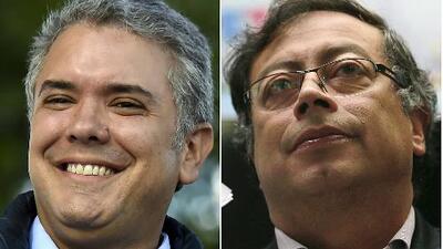 Segunda vuelta en presidenciales de Colombia: Iván Duque y Gustavo Petro, entre los votos de los excandidatos