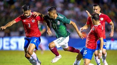Ticos, por el desquite: los últimos 5 enfrentamientos entre México y Costa Rica
