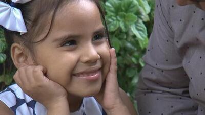 Su vida dependía de un tratamiento médico, pero 'Beba' le pidió a sus padres que la llevaran a Pequeños Gigantes