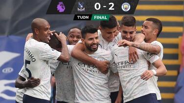 ¡Puede ser campeón este fin! Manchester City vence al Palace