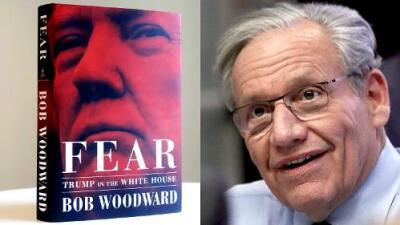 El autor del libro sobre la Casa Blanca de Trump es el periodista que ayudó a la caída de Nixon en 1974