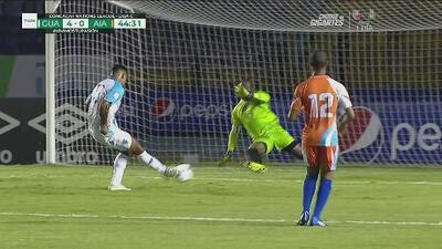 ¡Uno más! Guatemala hunde el acelerador y consigue el 4-0 ante la débil Anguila