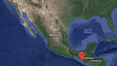 Un fuerte sismo de magnitud 6.5 sacude partes de México, Guatemala y El Salvador
