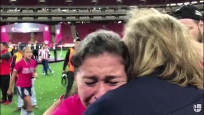 Emotivo festejo de Norma Palafox y Blanca Félix con sus familiares