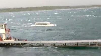 Sube a 17 el número de muertos del accidente de bote durante una tormenta en un lago de Missouri