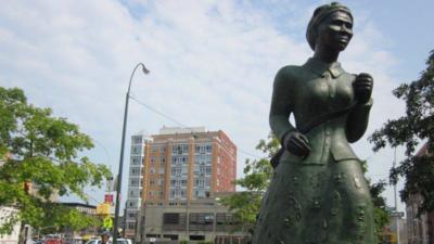 Harriet Tubman: En las calles de Harlem el nuevo rostro del billete de $20