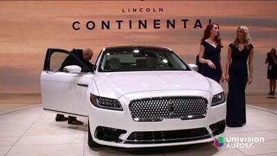 Detroit 2016: Lincoln Continental 2017
