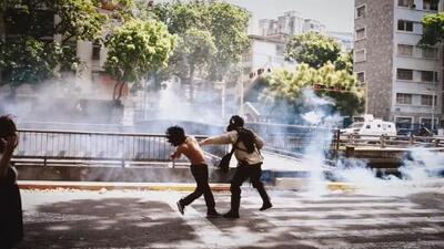 El video viral que muestra cómo son reprimidos los venezolanos en las protestas