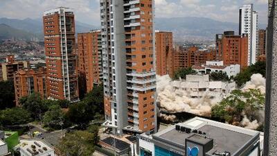 Aseguran que el fantasma de Pablo Escobar se paseaba por un edificio que fue demolido
