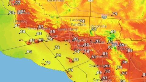 Regresa la amenaza: Alerta por fuertes vientos y posibilidad de incendios en Los Ángeles