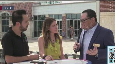 Univision 62 en Kyle junto a líderes locales y su trabajo para la comunidad hispana