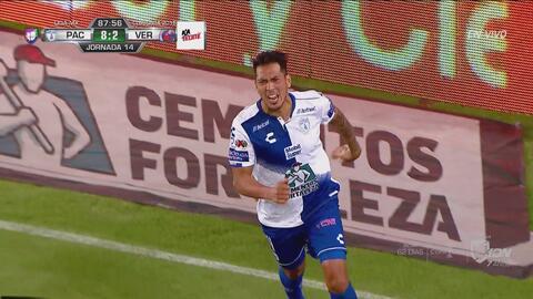 No fue uno, ni dos… ¡Fueron nueve los goles de Pachuca a Veracruz!