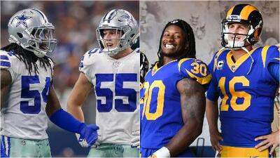 Cowboys vs. Rams: la férrea defensiva de Dallas a contener el ataque carnero en Hollywood