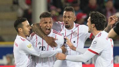 Bayern Múnich le aplica un póker de goles al Friburgo