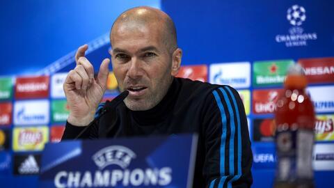 """Zinedine Zidane: """"Hay penalti y ya está; pasamos a semifinales y estamos contentos"""""""