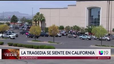 La tragedia de El Paso también se siente en California