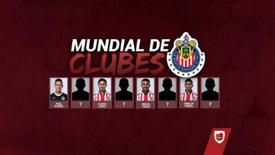 Chivas dio a conocer su lista para el Mundial de Clubes