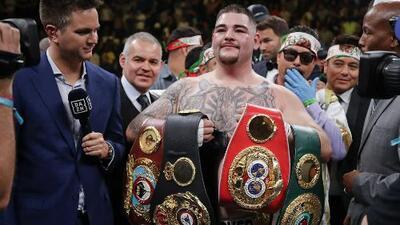 ¡Nunca subestimen a un mexicano! Andy Ruiz apabulló a Anthony Joshua en el gran Madison Square Garden
