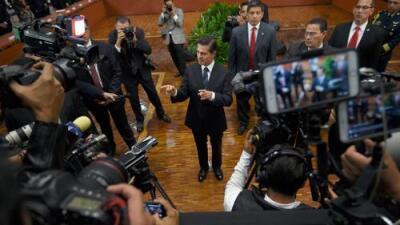 Periodismo en riesgo: Tuvieron que matar a Javier Valdez para que hablara Peña Nieto, y sus palabras no invitan al optimismo