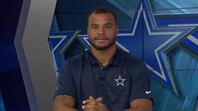 Dak Prescott cree que Dallas tiene las armas para cubrir la baja de Ezekiel Elliott