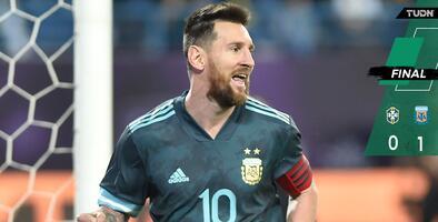 Messi volvió con gol y triunfo ante Brasil