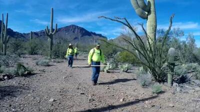 El hallazgo que le devolvió la esperanza a la familia de un emigrante desaparecido en el desierto de Arizona