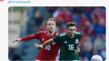 Héctor Herrera y clubes mexicanos envían mensajes de apoyo a Eriksen