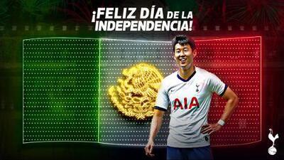 Tottenham 'naturaliza' como mexicano a Heung-Min Son