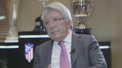 EXCLUSIVA | Presidente del Atlético de Madrid confesó que buscaba a Herrera desde hace tiempo
