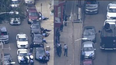 Tiroteo en Filadelfia deja al menos 6 policías heridos y enciende las alarmas en EEUU