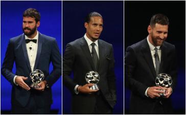 En fotos: los ganadores de la temporada 2018-2019 en la UEFA Champions League