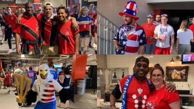 Cleveland recibe a los fanáticos del Team USA y Trinidad y Tobago en la Copa Oro
