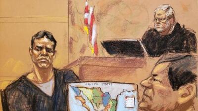 Se reanuda el juicio de 'El Chapo' con uno de los testigos más esperados, 'El Vicentillo'