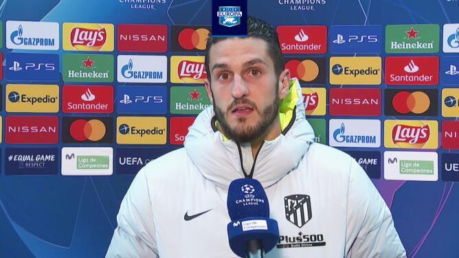 """Koke tras la derrota: """"El Atlético de Madrid siempre se levanta"""""""