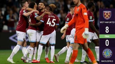 West Ham goleó y avanzó en Copa, pero… ¿y 'Chicharito'?