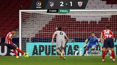 El Atlético venció al Bilbao y amplió su ventaja en LaLiga