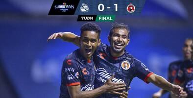 Xolos vence al Puebla y sigue invicto y con el arco imbatido