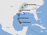 En vivo: sigue la trayectoria actualizada del huracán Delta