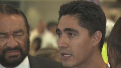 Este salvadoreño fue deportado hace más de dos años, pero ahora logra regresar a EEUU y reunirse con su familia