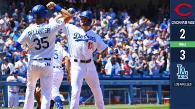 Dodgers empatan récord de jonrones en triunfo sobre Reds