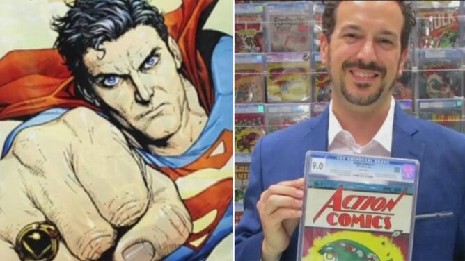 Cómic de Superman rompe récord al venderse en más de 3 millones de dólares