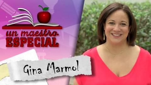 Un Maestro Especial 2017: Gina Marmol