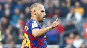 Koeman recupera a Braithwaite para el choque entre Barcelona y el Celta