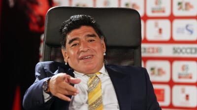 Diego Armando Maradona se postulará a la presidencia de FIFA