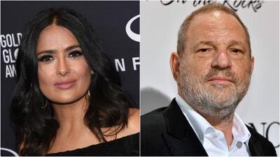 Salma Hayek se suma a la lista de actrices que aseguran haber sido acosadas por Harvey Weinstein