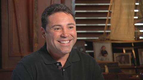 Entrevista exclusiva con Oscar De La Hoya