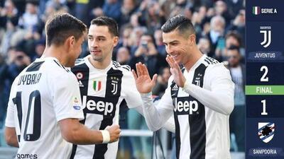¡CR7 la rompe en la Serie A! Doblete, capocannoniere, liderato y se queda a dos goles de Messi