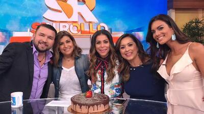 En comerciales: Lourdes Stephen recibió el regalo de cumpleaños que siempre quiso