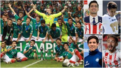 ¿Y dónde quedaron los campeones del Mundial Sub-17 de 2011?