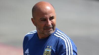"""Sampaoli promete que Argentina jugará """"con el cuchillo entre los dientes"""" ante Francia"""